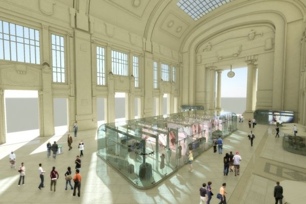 New look for Milan Central - image 1