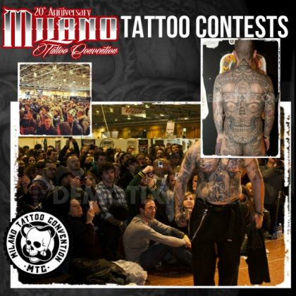 Milan Tattoo Convention 2015 - image 2