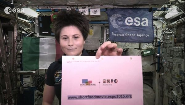 Message from space for Expo Milan - image 2