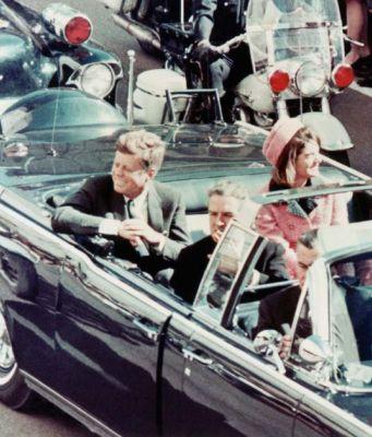 John Fitzgerald Kennedy assassinated on 22 November 1963