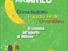 Summer evening movies in Milan