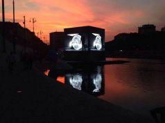 Free midnight movies at Milan's Darsena