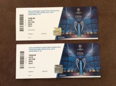 UEFA CHAMPIONS LEAGUE FINAL TICKETS 2016