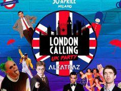 London Calling night at Milan's Alcatraz