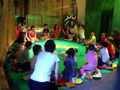 Children's games in Milan's Sforza castle