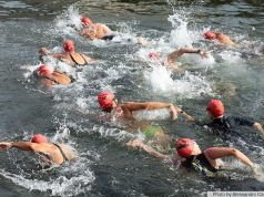 Milan to swim for charity