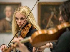 Evening concert in the Brera Gallery