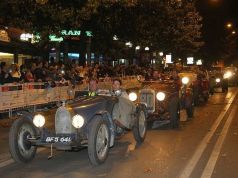 Mille Miglia first time in Milan
