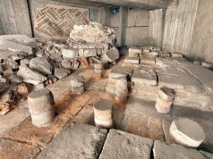 Archaeological finds on Milan's M4 metro
