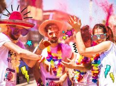Color Run for charity in Milan