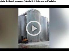 Prosecco silo explodes