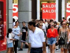 Winter Sales in Milan