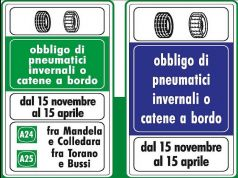 Winter tyres or chains obligatory from 15 November