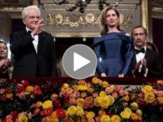 Standing ovation for President Sergio Mattarella at the Scala