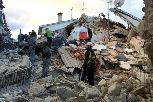 Blood donors sought for Italian earthquake victims