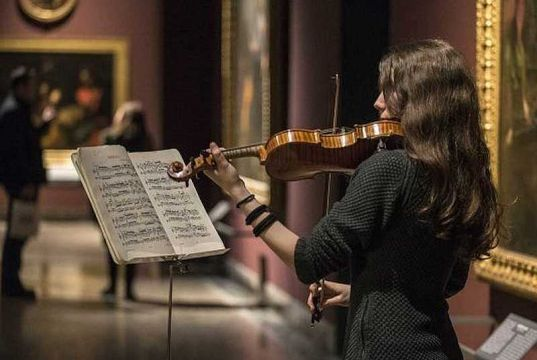 Music and art in Milan's Brera Gallery