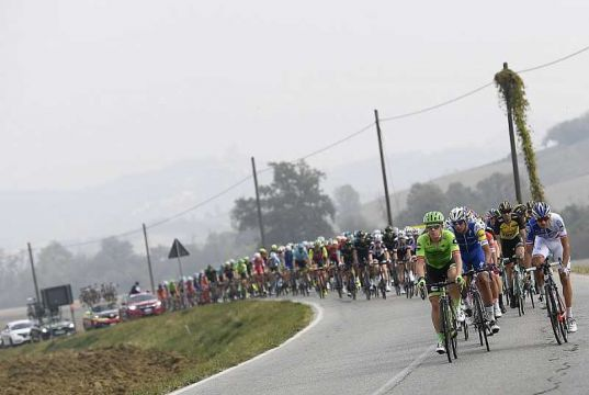 99th edition of Italy's oldest bike race starts in Milan.