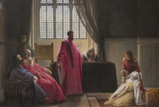 Once lost Hayez painting now at Milan's GAM