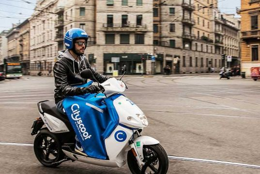 Zero-emission scooter hire comes to Milan