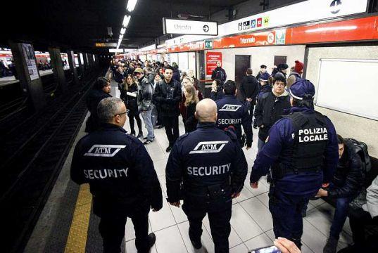 Milan boosts security on urban transport