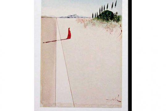 Rare Salvador Dalì woodcuts in Milan exhibit