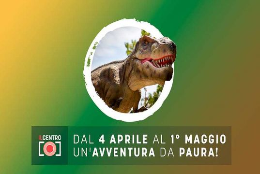 Moving, life-sized dinosaurs invade Milan