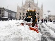 Milan's Central Station a refuge for the homeless