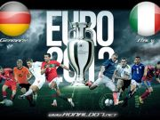 European Football Cup 2012 - Italy VS Germany