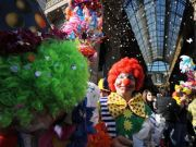 Kids' carnival in Milan