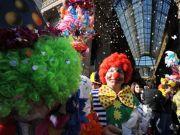 Kids' carnival in Milan