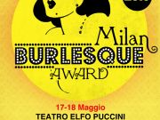 Milan ready for Burlesque Award 2013
