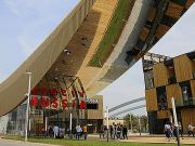 Diplomatic row brews over Russia pavilion at Expo