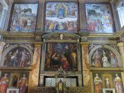 Visit to Milan's S. Maurizio church
