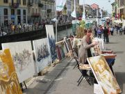 "Milan offers ""Art on the Naviglio"""