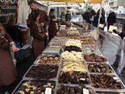 Chocolate reigns on Milano's Navigli