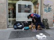 Milan to report homeless as freeze bites