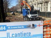 Milan's M4 invites bids to decorate metro construction sites