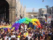 Milan celebrates gay pride