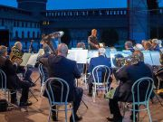 Music under the stars in Milan's Castello