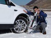 Winter tyres or chains on board until April