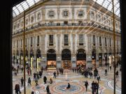 Where to take a coffee break inside Galleria Vittorio Emanuele II