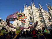 Milan celebrates Chinese New Year