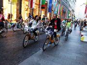 Milan publishes map of bike routes, BikeMI stations
