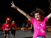 """Run Together"" in Milan to protest violence against women"