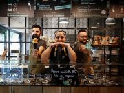 Coffee festival celebrates Milan's coffee scene.