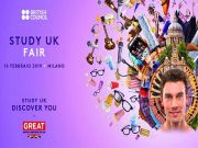 UK study fair in Milan