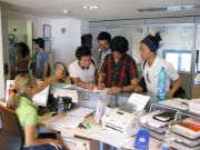 Language courses resume in Italy