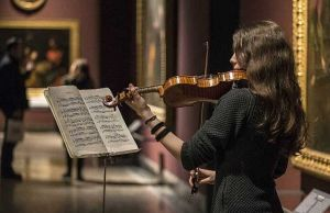 Music and art in Milan's Brera Gallery