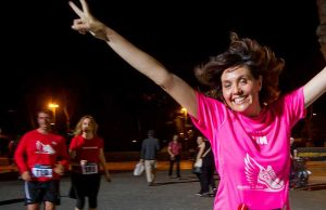 """""""Run Together"""" in Milan to protest violence against women"""