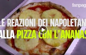 This is what happens when you deliver a pineapple pizza in Naples